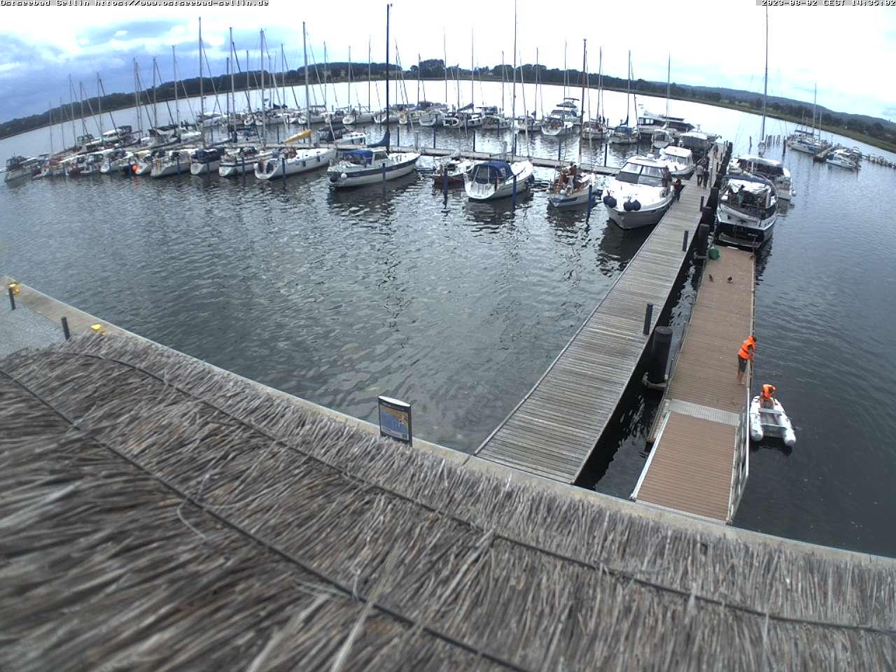LiveCam Hafen Sellin Rügen Wasserwanderrastplatz