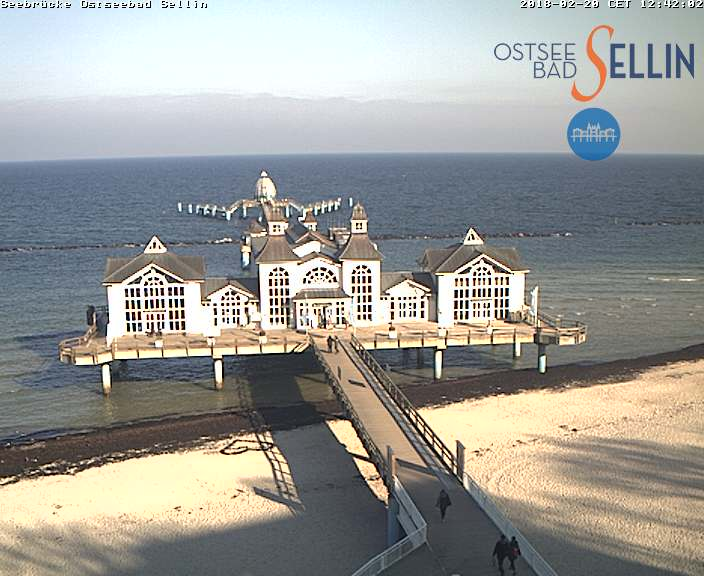 Webcam Seebruecke Ostseebad Sellin